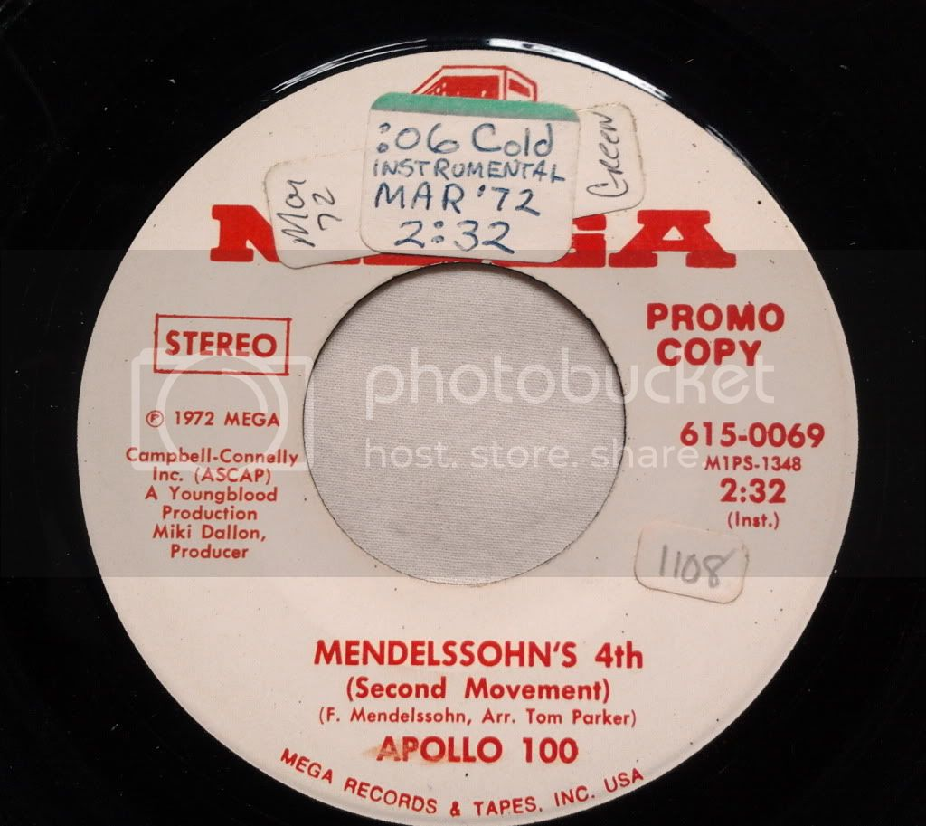 Apollo 100 - Mendelsson's 4th     (wlp/promo)