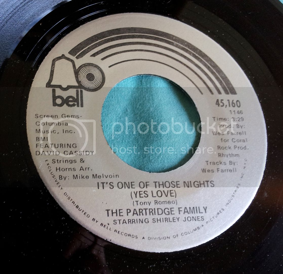 Partridge Family - It's One Of Those Nights/one Night Stand